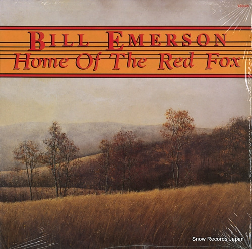 EMERSON, BILL home of the red fox REB-1651 - front cover
