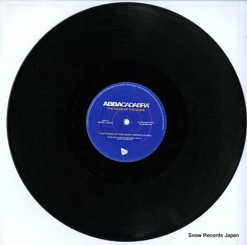 ABBACADABRA the name of the game / gimme! gimme! 12ALMY91 - disc