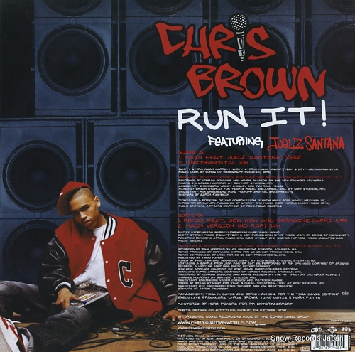 BROWN, CHRIS run it! 82876779481 - back cover