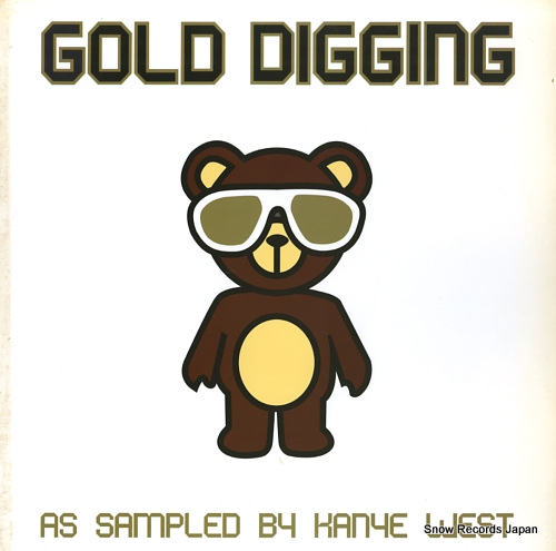 V/A gold digging / as sampled by kanye west HURTLP065 - front cover
