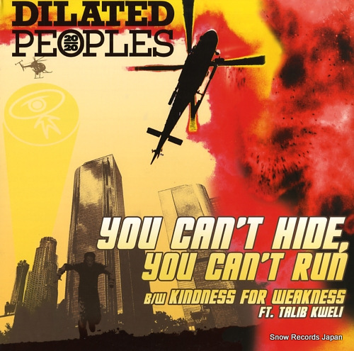 DILATED PEOPLES you can't hide, you can't run ABB1071-1 - front cover