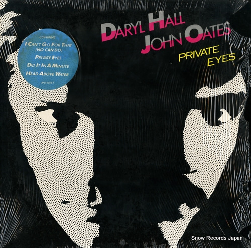 HALL, DARYL, AND JOHN OATES private eyes AFL1-4028 - front cover