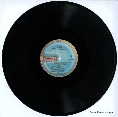 CHESTER, ILAN al pie de la letra 10.165 - disc
