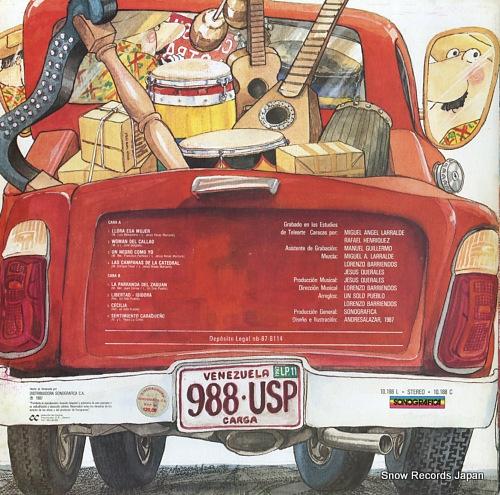 UN SOLO PUEBLO con su musica a otra parte 10.188 - back cover