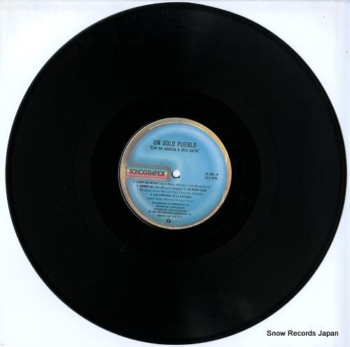 UN SOLO PUEBLO con su musica a otra parte 10.188 - disc