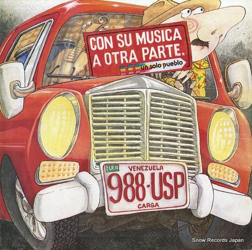 UN SOLO PUEBLO con su musica a otra parte 10.188 - front cover