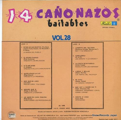 V/A 14 canonazos bailables vol.27 200-608 - back cover