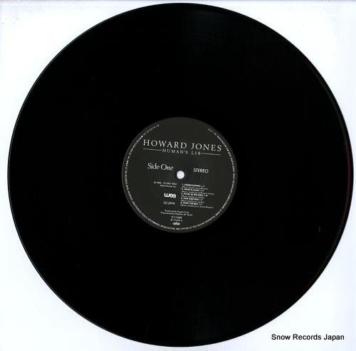 JONES, HOWARD human's lib P-11469 - disc