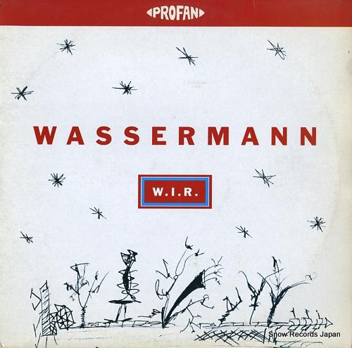WASSERMANN w.i.r. PROFAN027 - front cover