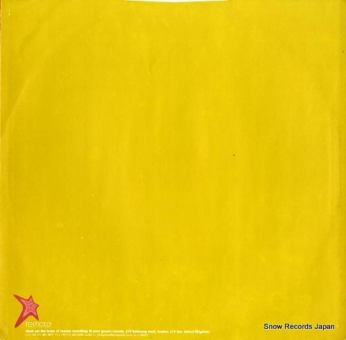 ORINOKO mama konda REMOTE-008 - back cover
