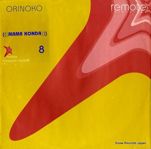 ORINOKO mama konda REMOTE-008 - front cover