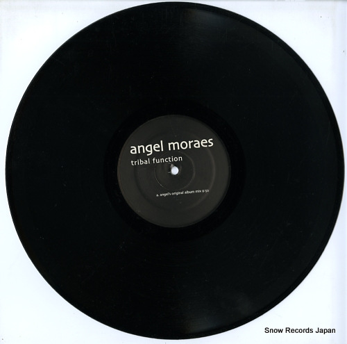 MORAES, ANGEL tribal function DDD007 - disc