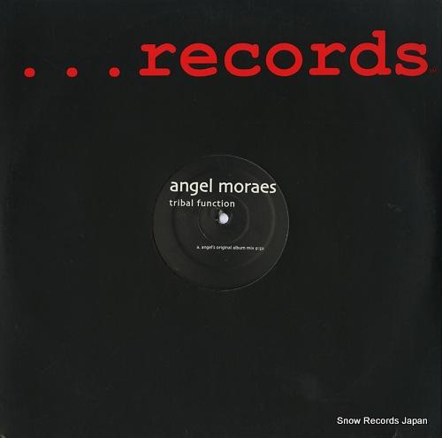 MORAES, ANGEL tribal function DDD007 - front cover