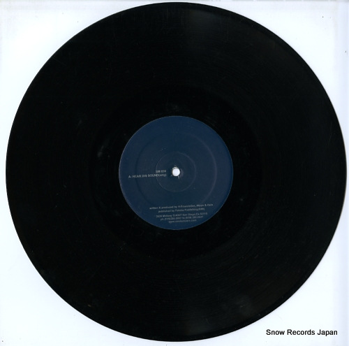 H-FOUNDATION hear dis sound SM036 - disc