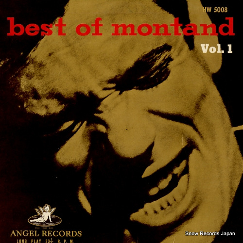 MONTAND, YVES best of montand vol.1 HW5008 - front cover