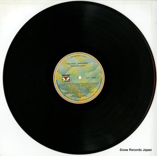 V/A sigamos bailando LPV2092 - disc