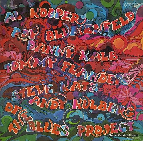ブルース・プロジェクト tommy flanders, danny kalb, steve katz, al kooper, andy kulberg, roy blumenfeld of the blues project FTS-3069