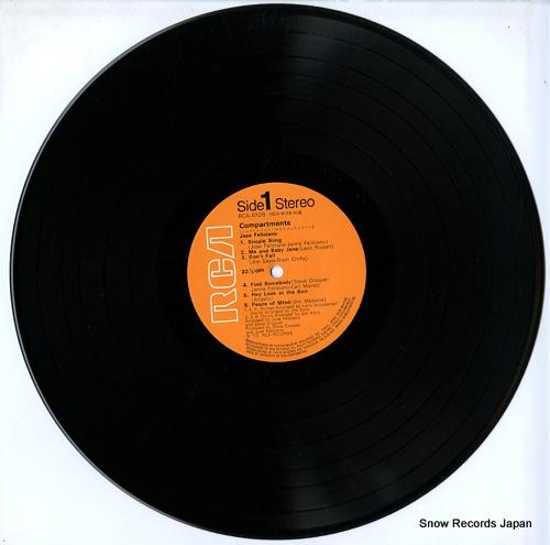 FELICIANO, JOSE compartments RCA-6126 - disc