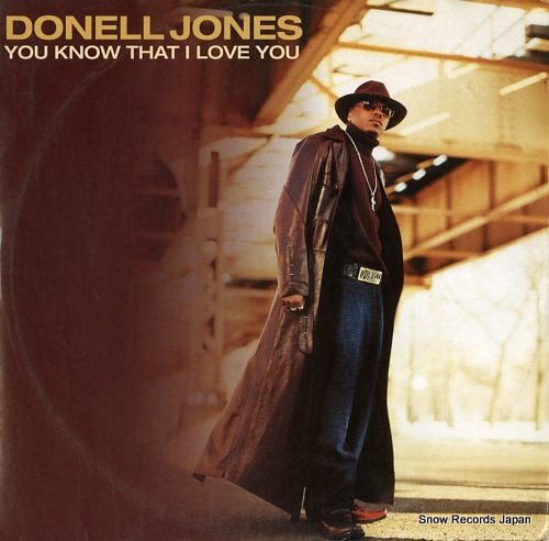 JONES, DONELL you know that i love you 74321956961 - front cover