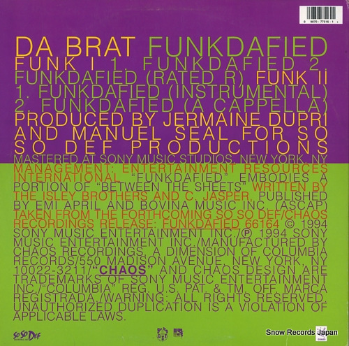DA BRAT funkdafied 4277516 - back cover