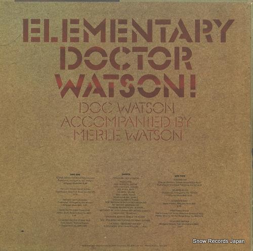 ドック・ワトソン elementary doctor watson PYS-5703