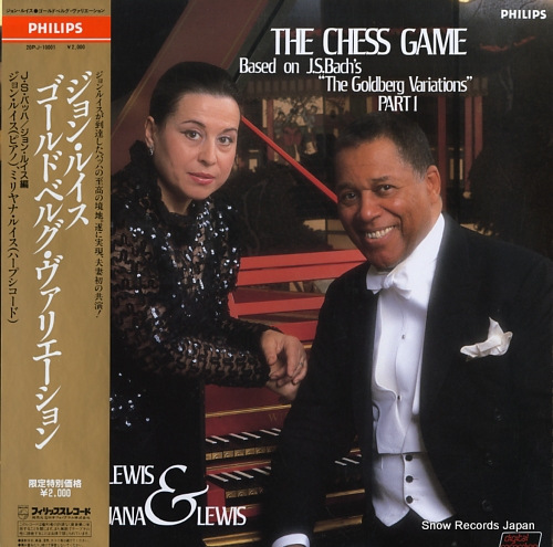 LEWIS, JOHN, AND MIRJANA the chess game / based on j.s.bach's