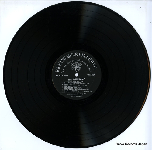 WIJNKAMP, LEO, JR. rags to riches KM117 - disc
