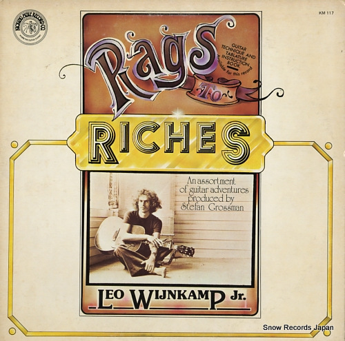 WIJNKAMP, LEO, JR. rags to riches KM117 - front cover