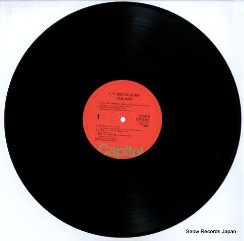 REDDY, HELEN love song for jeffrey ECP-81008 - disc