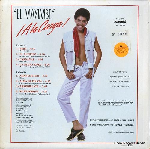 VILLALONA, FERNANDITO el mayimbe !a la carga! LPE-17053 - back cover