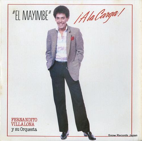 VILLALONA, FERNANDITO el mayimbe !a la carga! LPE-17053 - front cover