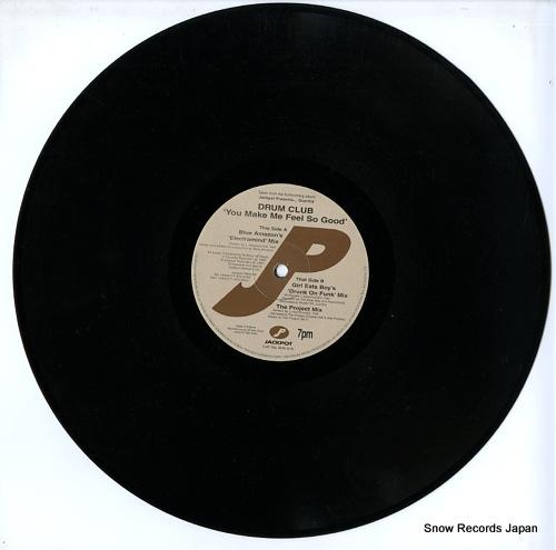 DRUM CLUB you make me feel so good (blue amazon & drum club 1997 remixes) WIN018 - disc