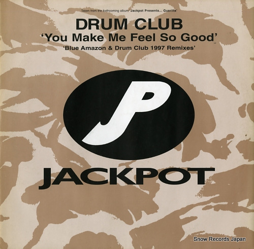 DRUM CLUB you make me feel so good (blue amazon & drum club 1997 remixes) WIN018 - front cover