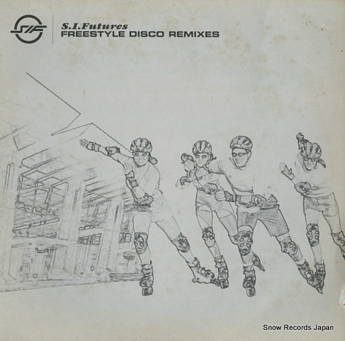 S.L. FUTURES freestyle disco remixes L12NOMU76 - front cover