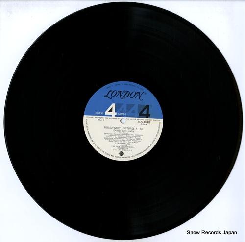 ロリン・マゼール ムソルグスキー:組曲「展覧会の絵」 SLA1048
