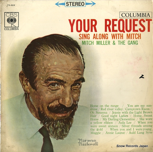 MILLER, MITCH your request sing along with mitch YS-224 - front cover