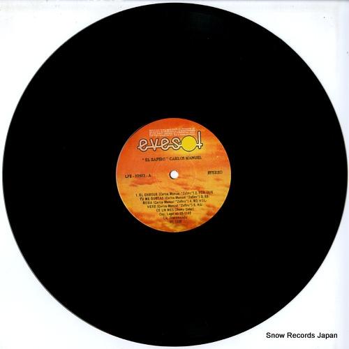 MANUEL, CARLOS el zafiro LPE-10502 - disc