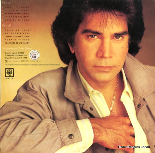 RODRIGUEZ, JOSE LUIS el ultimo beso DCS-1.116 - back cover