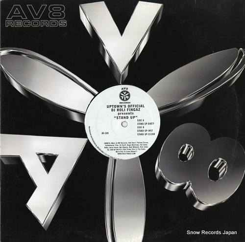DJ ROLI FINGAZ stand up AV-149 - front cover