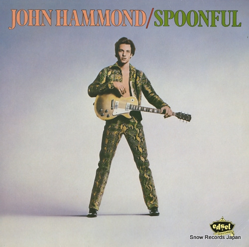 HAMMOND, JOHNNY spoonful ED129 - front cover