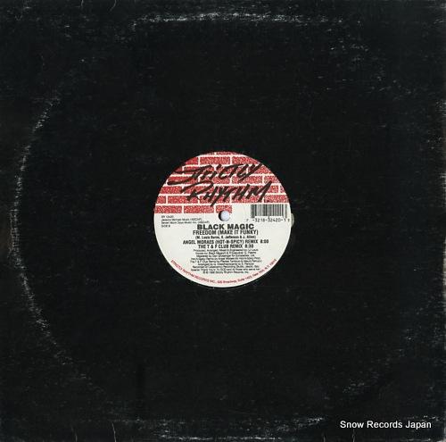 BLACK MAGIC freedom (make it funky)(the remixes) SR12420 - back cover