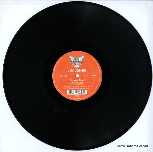 JONES, JIMMY reppin' time / we fly high KOC125964 - disc