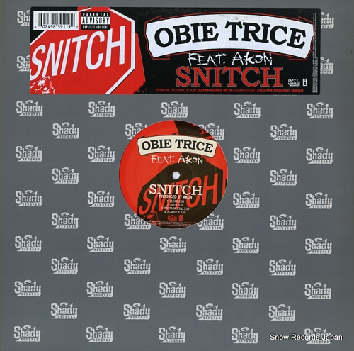 TRICE, OBIE snitch B0006966-11 - front cover