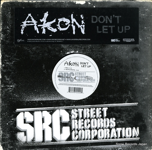 AKON don't let up B0006626-11 - front cover