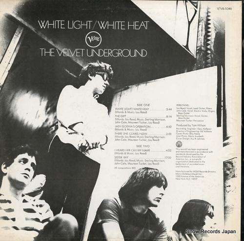 ヴェルヴェット・アンダーグラウンド white light / white heat V6-5046