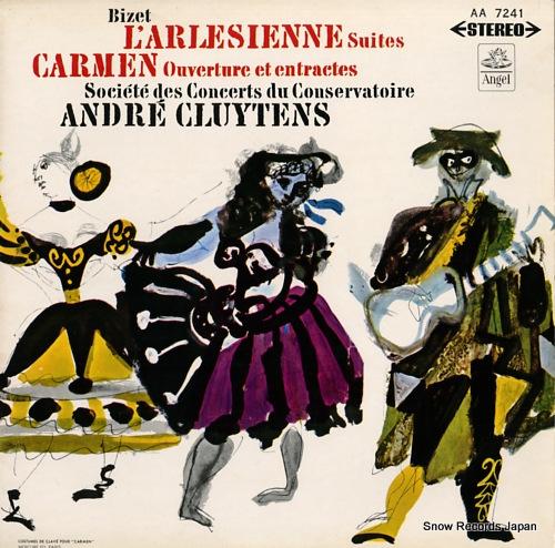 アンドレ・クリュイタンス ビゼー:歌劇「カルメン」、「アルルの女」第1、2組曲 AA-7241