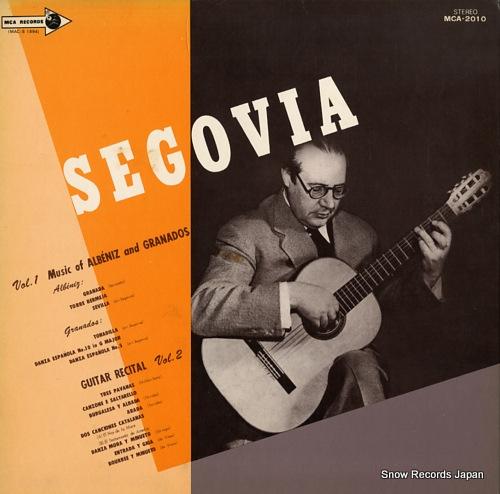 アンドレス・セゴビア ギター・リサイタル MCA-2010