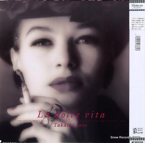 SATO, TAKASHI la dolce vita RT28-5322 - back cover