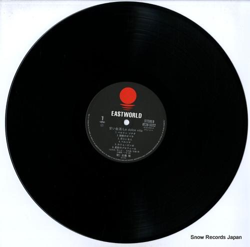 SATO, TAKASHI la dolce vita RT28-5322 - disc