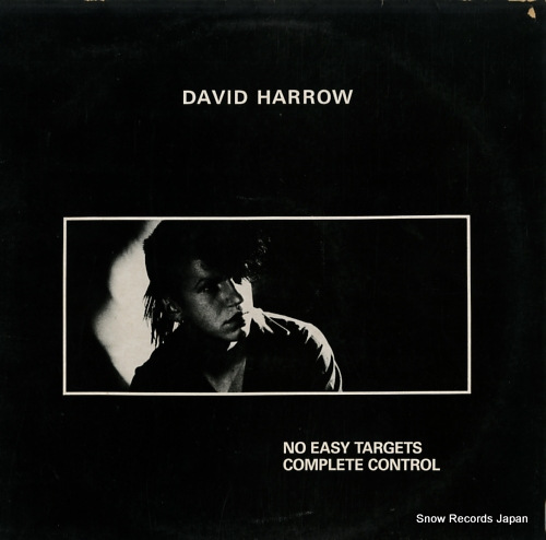 HARROW, DAVID no easy targets / complete control INK128 - front cover